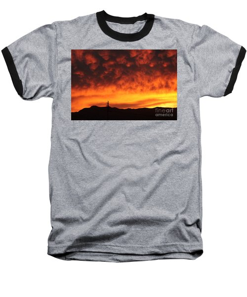 The Sun Goes Down Baseball T-Shirt