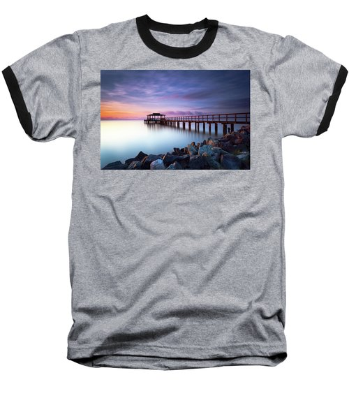 The Sun Watcher Baseball T-Shirt