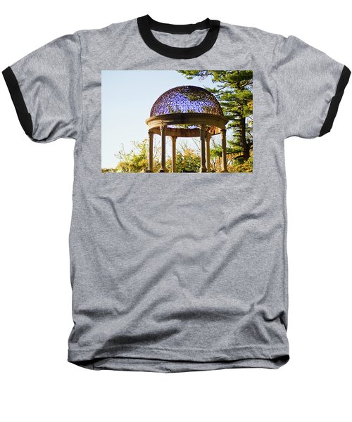 The Sunny Dome  Baseball T-Shirt by Jose Rojas