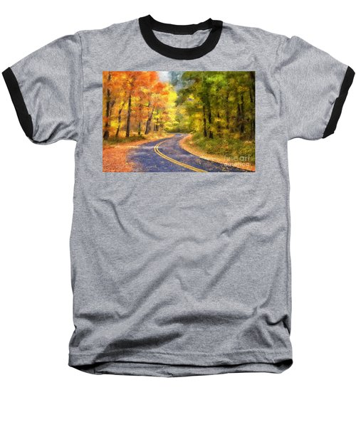 The Sunny Side Of The Street Baseball T-Shirt