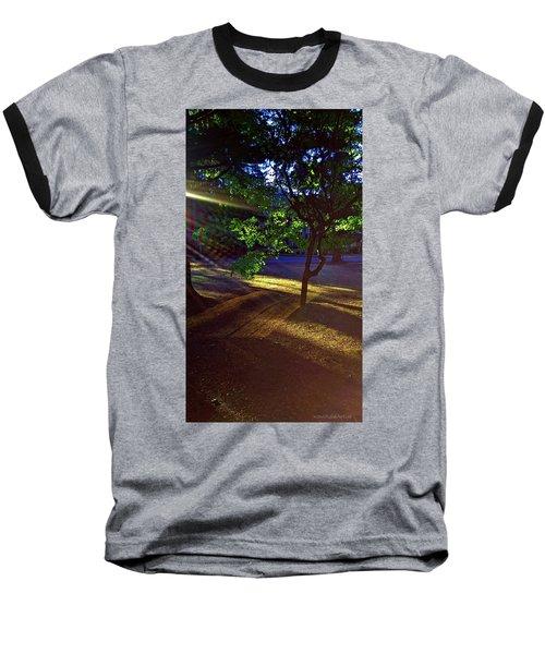 The Sunset Grove  Baseball T-Shirt by Karl Reid