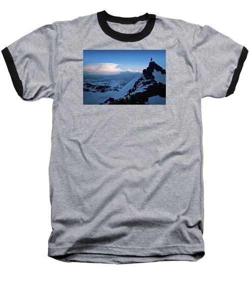 The Sunset Wave Baseball T-Shirt