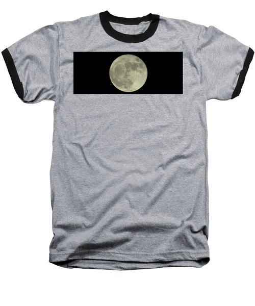 Baseball T-Shirt featuring the photograph The Super Moon 3 by Robert Knight