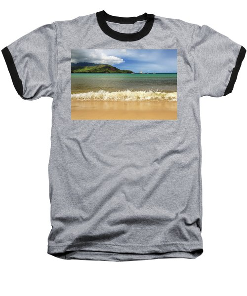 The Surf At Hanalei Bay Baseball T-Shirt