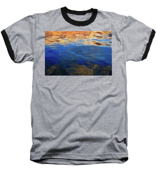 The Surface Is A Reflection  Baseball T-Shirt