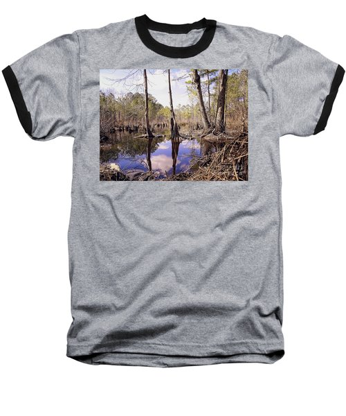 The Swamp Baseball T-Shirt by Melissa Messick