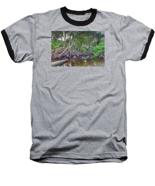 The Swamp Baseball T-Shirt by Nadia Sanowar