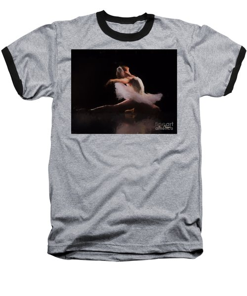 The Swan  Baseball T-Shirt