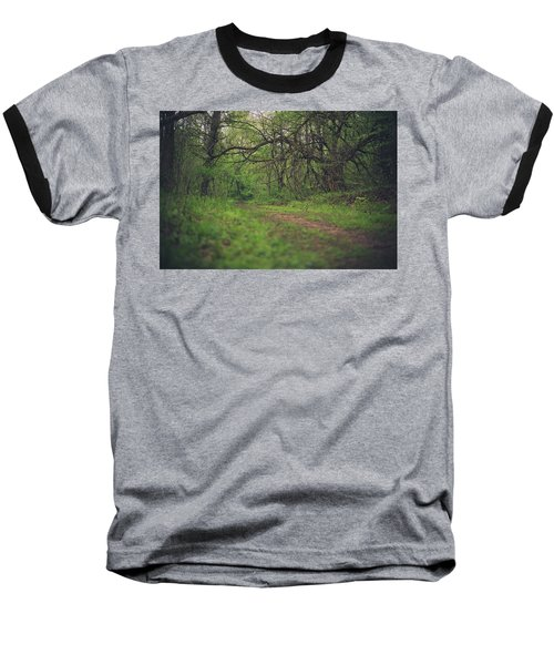 Baseball T-Shirt featuring the photograph The Taking Tree by Shane Holsclaw