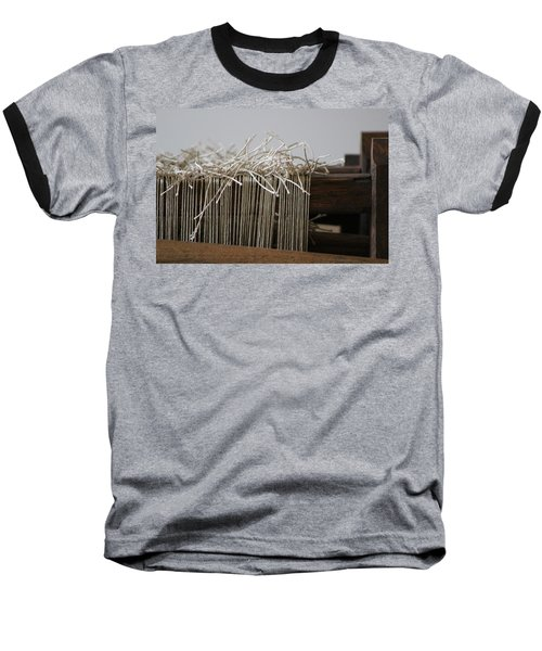 The Tales We Weave In Sepia Photograph Baseball T-Shirt