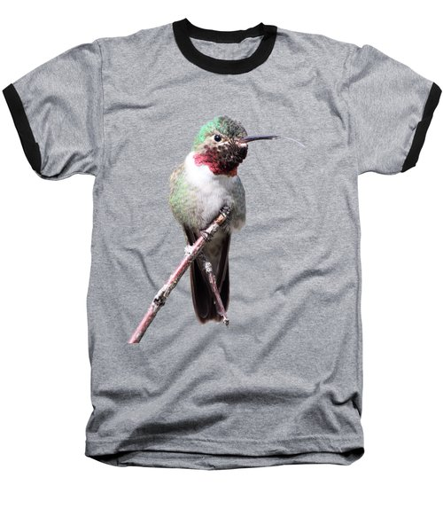 Baseball T-Shirt featuring the photograph The Taste Of Air by Shane Bechler