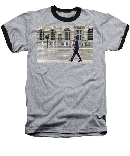 Baseball T-Shirt featuring the photograph The Tax Man by Keith Armstrong
