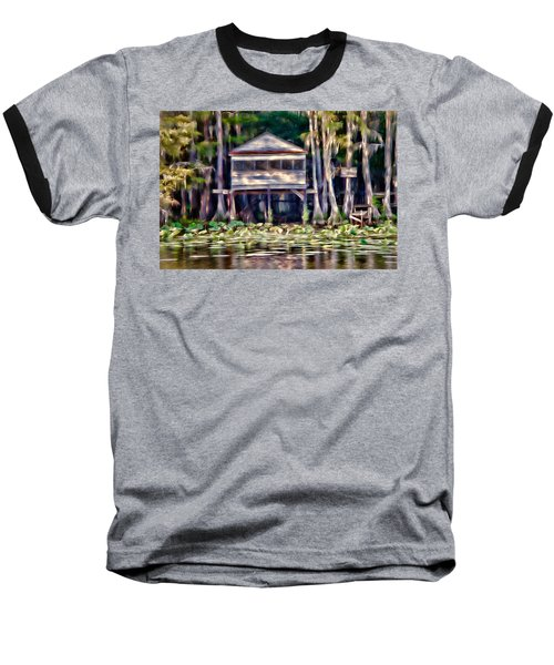Baseball T-Shirt featuring the photograph The Tea Room by Lana Trussell