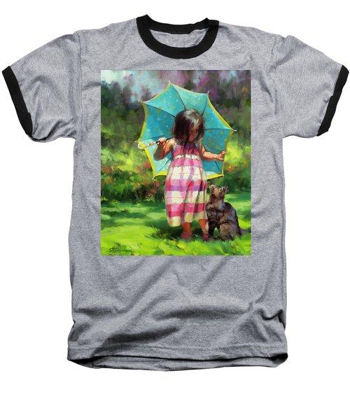The Teal Umbrella Baseball T-Shirt
