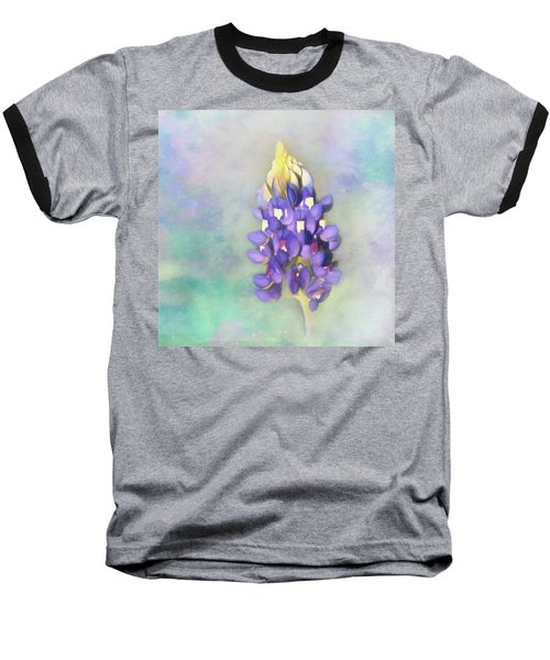 Baseball T-Shirt featuring the photograph The Texas State Flower The Bluebonnet by David and Carol Kelly