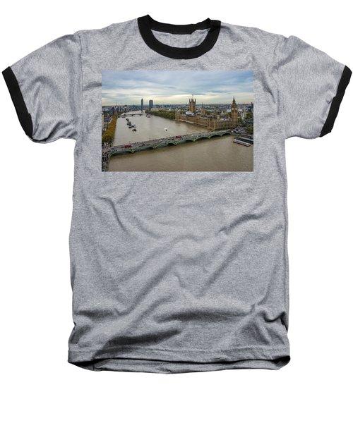 The Thames At Sunset Baseball T-Shirt