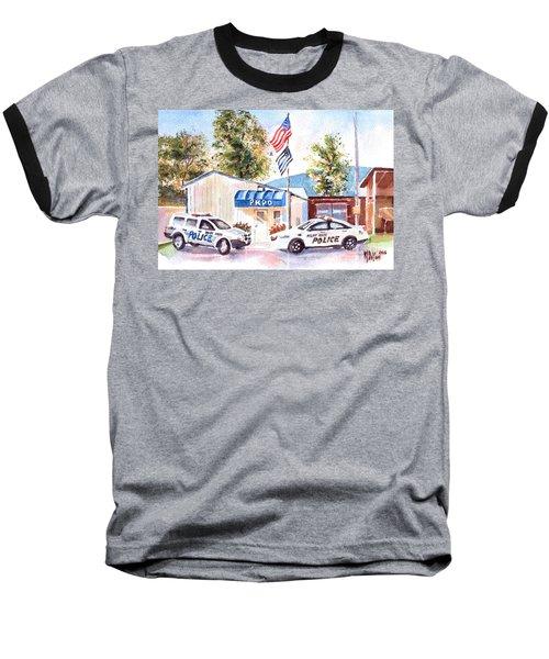 The Thin Blue Line Baseball T-Shirt