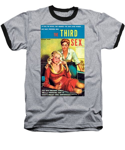 The Third Sex Baseball T-Shirt