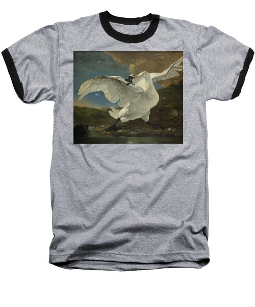 The Threatened Swan, 1650 Baseball T-Shirt