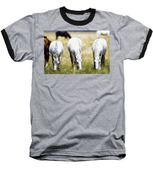 The Three Amigos Grazing Baseball T-Shirt