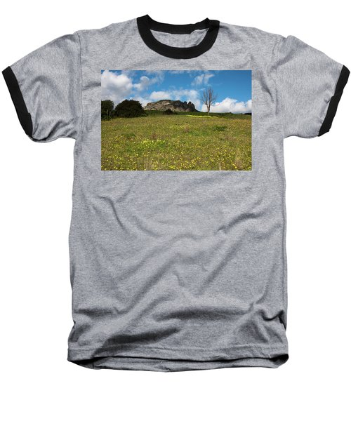Baseball T-Shirt featuring the photograph The Three Finger Mountain by Bruno Spagnolo