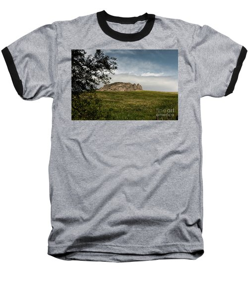 Baseball T-Shirt featuring the photograph The Three Fingers by Bruno Spagnolo