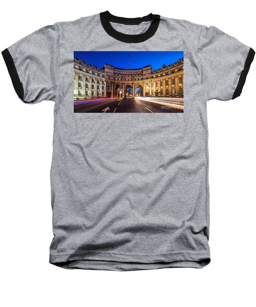 The Three Gates Baseball T-Shirt by Giuseppe Torre