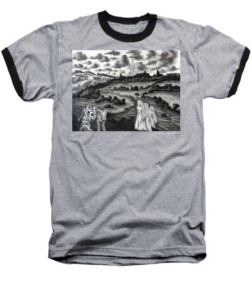 The Three Ladies  Baseball T-Shirt