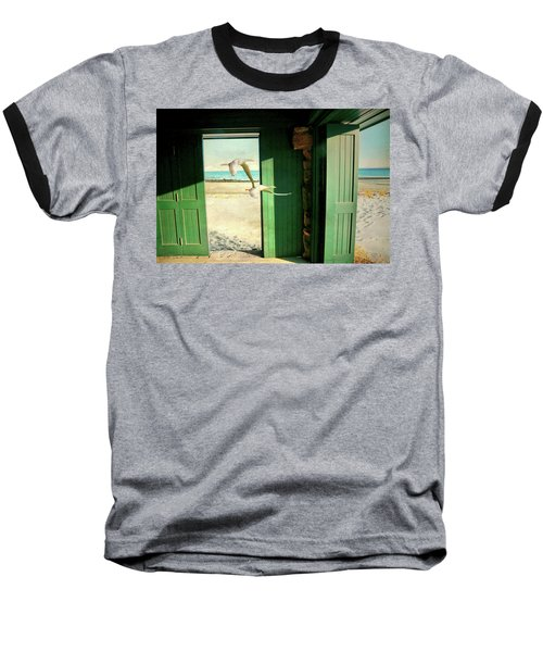 Baseball T-Shirt featuring the photograph The Thruway by Diana Angstadt