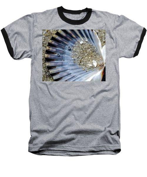 The Tides Edge Baseball T-Shirt by Bruce Carpenter
