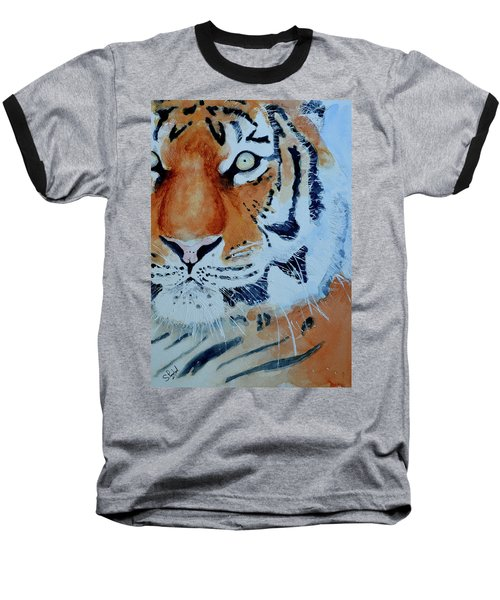 The Tiger Baseball T-Shirt by Steven Ponsford