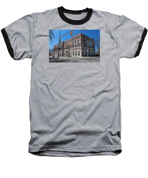 Baseball T-Shirt featuring the photograph The Toledo Club by Michiale Schneider