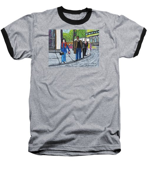 The Tourist Baseball T-Shirt by Reb Frost