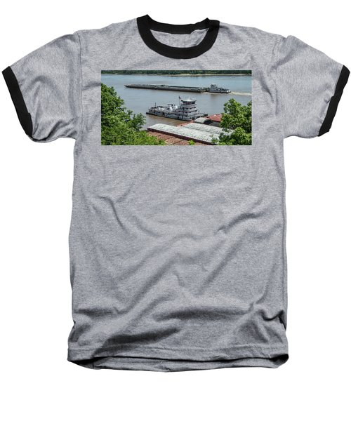 The Towboat Buckeye State Baseball T-Shirt by Garry McMichael