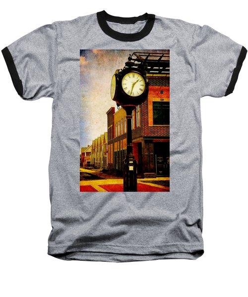 the Town Clock Baseball T-Shirt