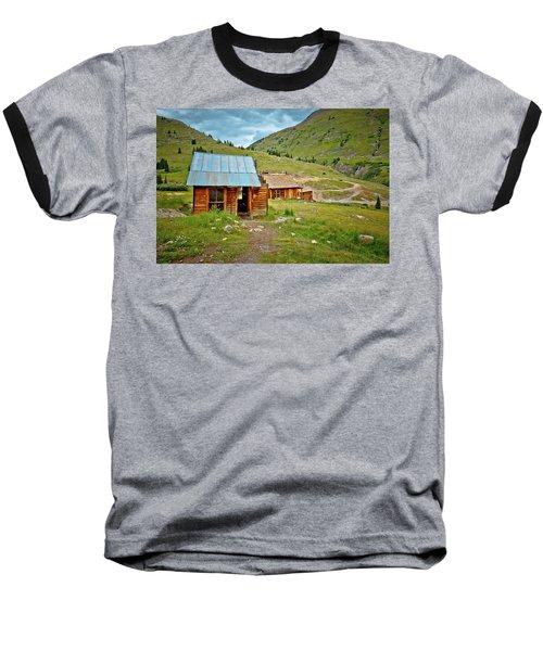 The Town Of Animas Forks Baseball T-Shirt
