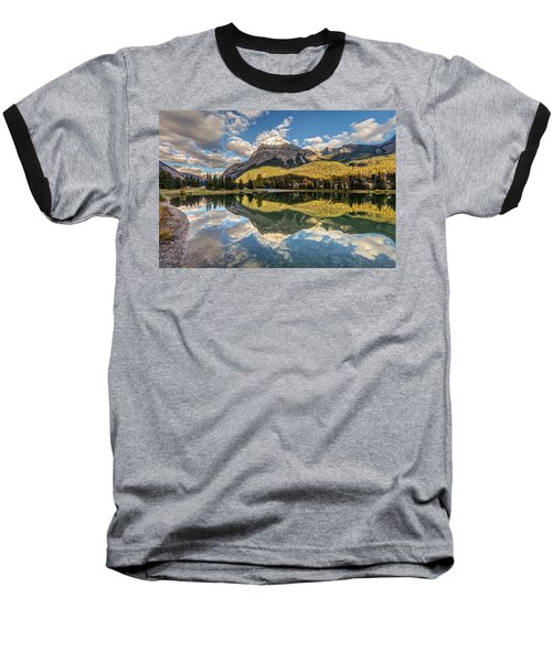 The Town Of Field In British Columbia Baseball T-Shirt by Pierre Leclerc Photography