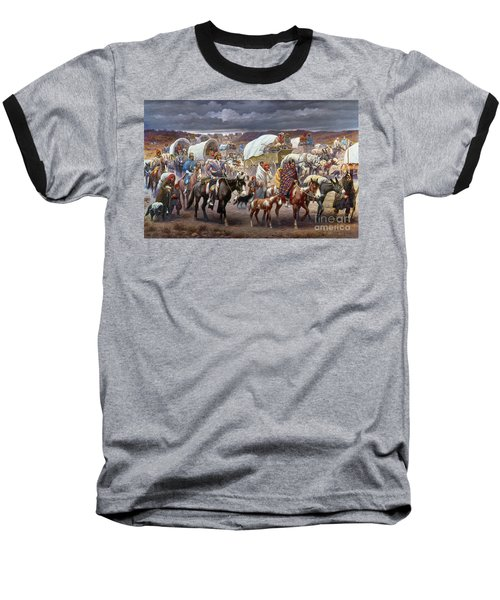 The Trail Of Tears Baseball T-Shirt