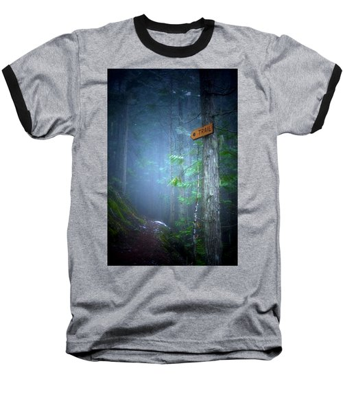 Baseball T-Shirt featuring the photograph The Trail by Tara Turner