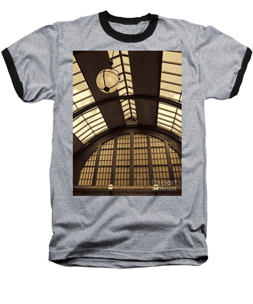 The Train Station Baseball T-Shirt