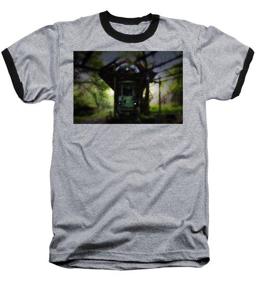 The Tram Leaves The Station... Baseball T-Shirt