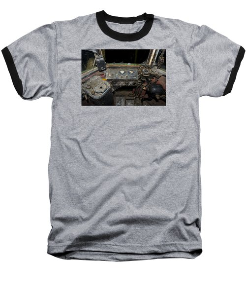 The Tram Leaves The Station... Instruments Baseball T-Shirt