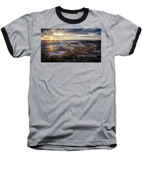 The Tranquil Seas Baseball T-Shirt