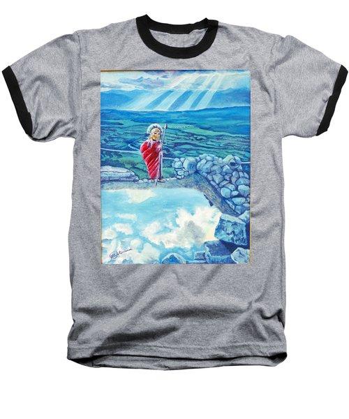 The Transcending Spartan Soldier Baseball T-Shirt