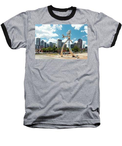 The Traveling Man Dallas 080618 Baseball T-Shirt