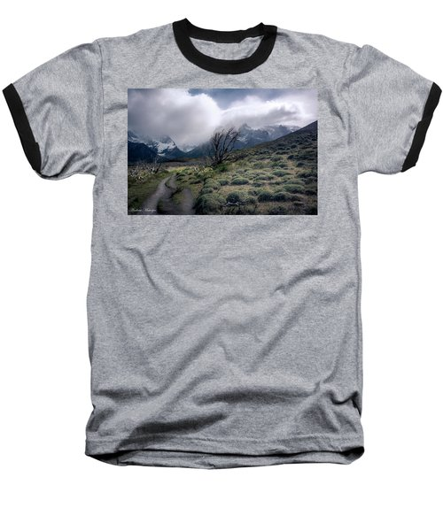 Baseball T-Shirt featuring the photograph The Tree In The Wind by Andrew Matwijec