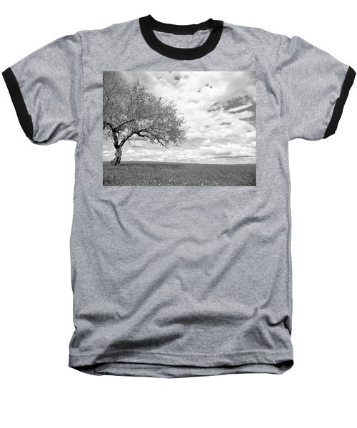The Tree On The Hill Baseball T-Shirt