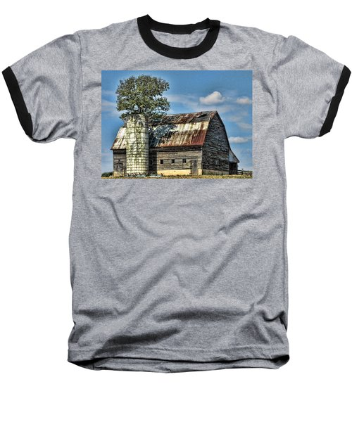 The Tree Silo Baseball T-Shirt