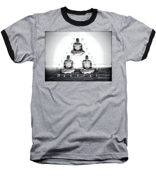 The Triangle Of Decision Baseball T-Shirt