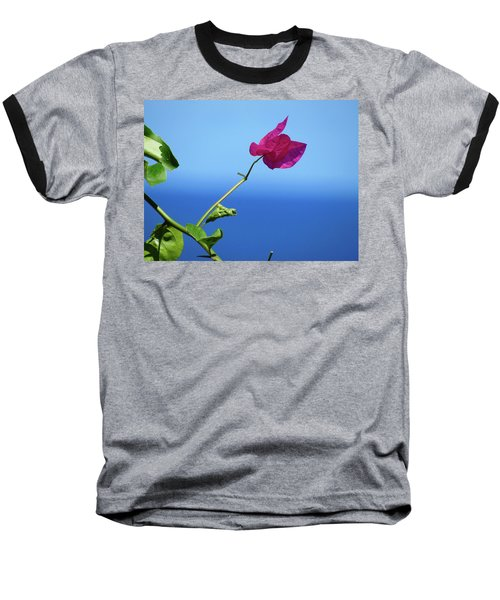 The Tropical Bloom Baseball T-Shirt